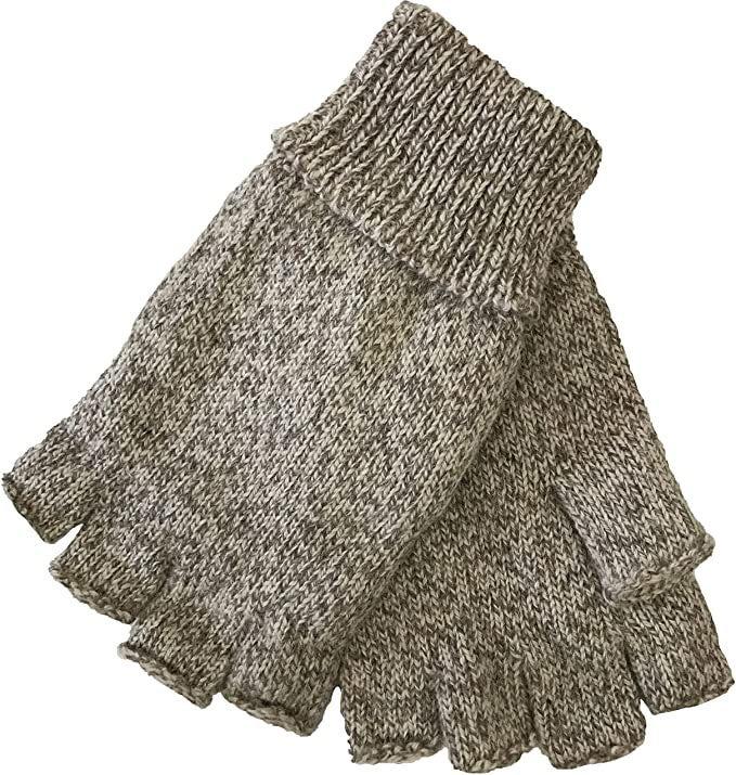 Fingerless Fleece-lined Gloves
