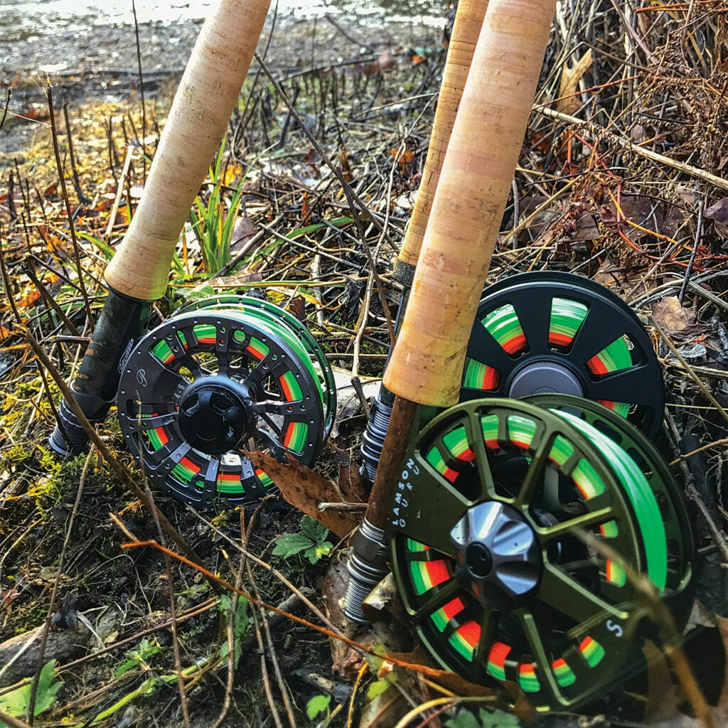 Spinning rods and reels