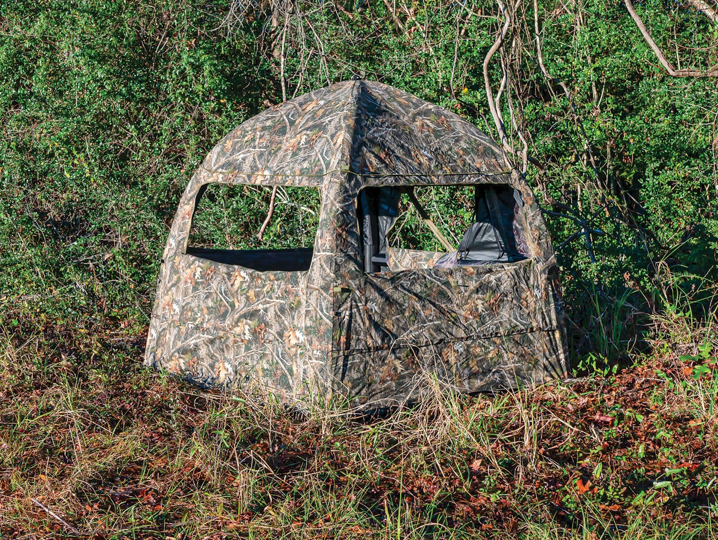 True Timber Inflatable Ground Blind
