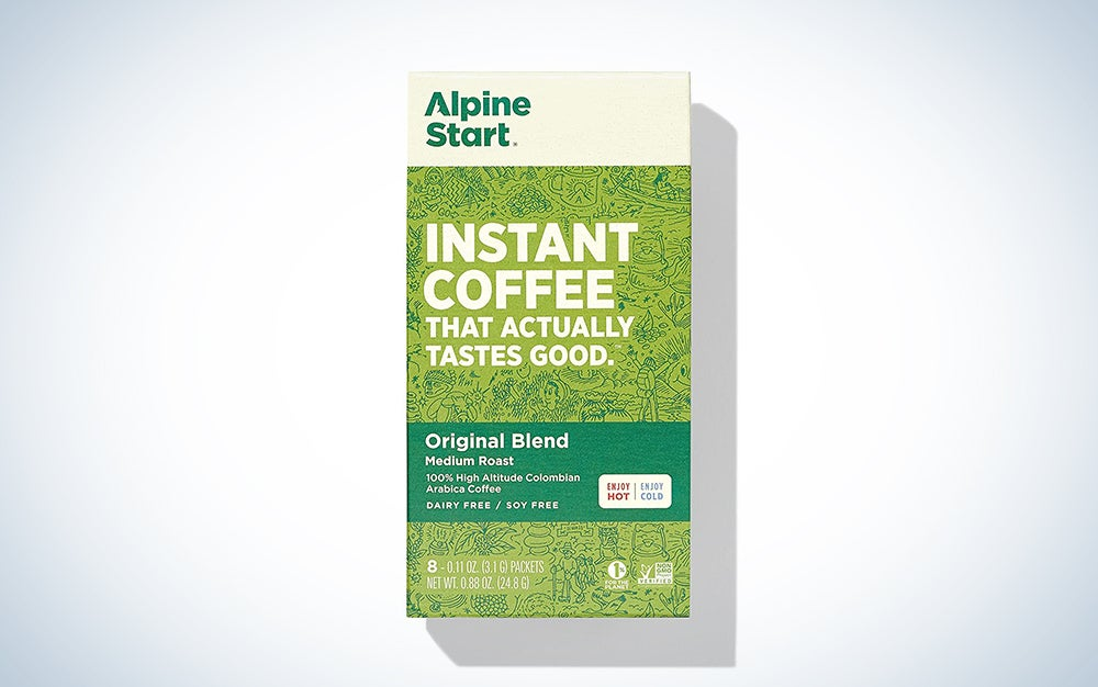 Alpine Start Premium Instant Coffee, 8 Single Packets