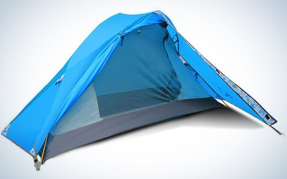 FLYTOP Single Person and Single Door Tent Outdoor 1 Man Tent