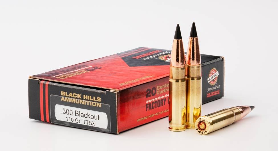 Black Hills TTSX ammo