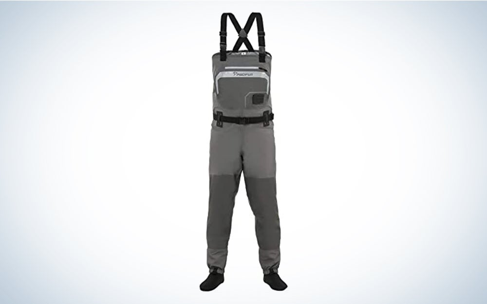 Piscifun breathable stockingfoot chest waders