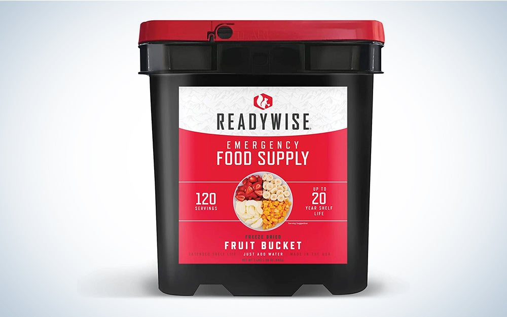 ReadyWise Freeze-Dried Fruit 120 Servings