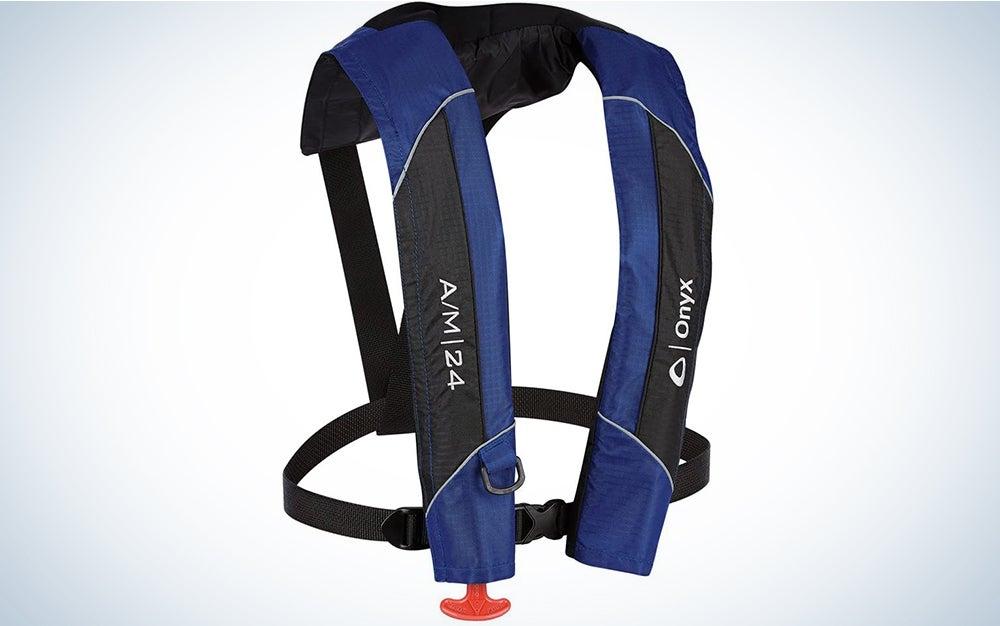 1 - Onyx A/M-24 Automatic/Manual Inflatable PFD Life Jacket - Blue