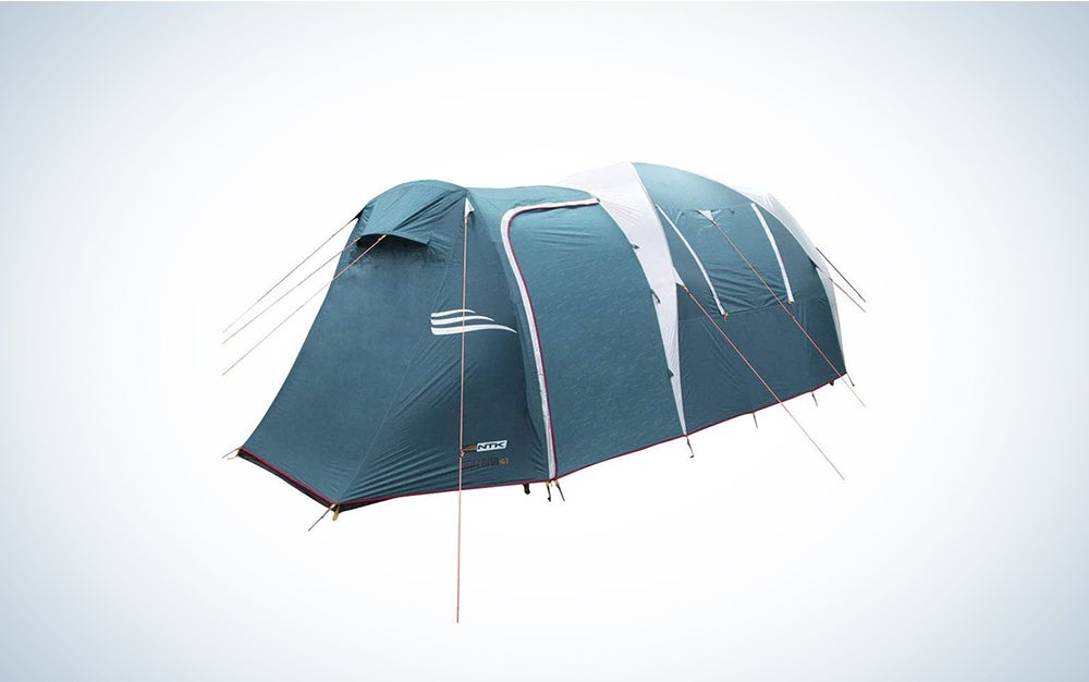 NTK Arizona GT 9 to 10 Person 17.4 by 8 Foot Sport Camping Tent