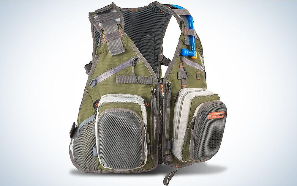 Anglatech Fly Fishing Backpack Vest Combo