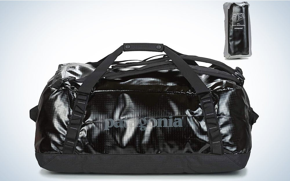 Patagonia Black Hole 55L Duffel Bag Black