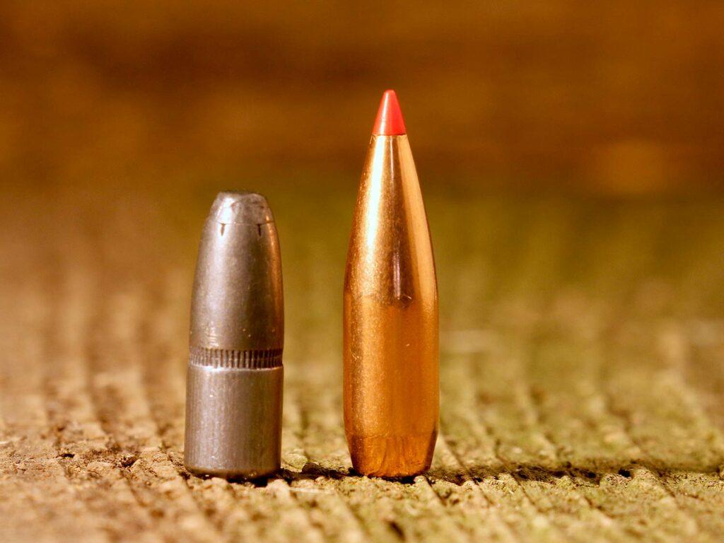 Bullet point comparisons.