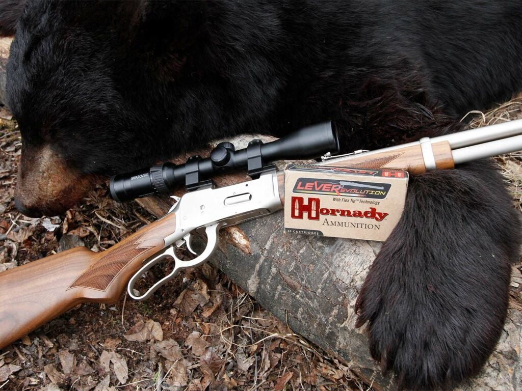 Mossberg 464 ammo and rifle.