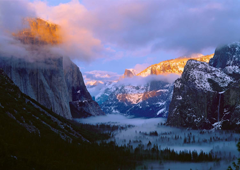 Tunnel View, California, Yosemite National  Park
