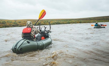 A Raft Hunt for Caribou in the Alaskan Tundra