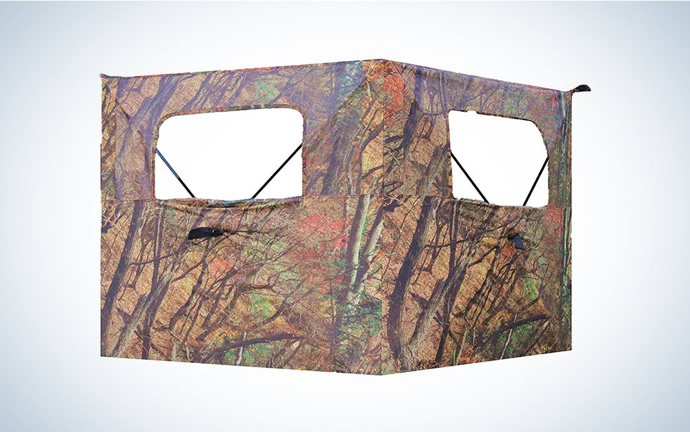 Alpha Cam Two-Panel One-Way-See-Through Blind