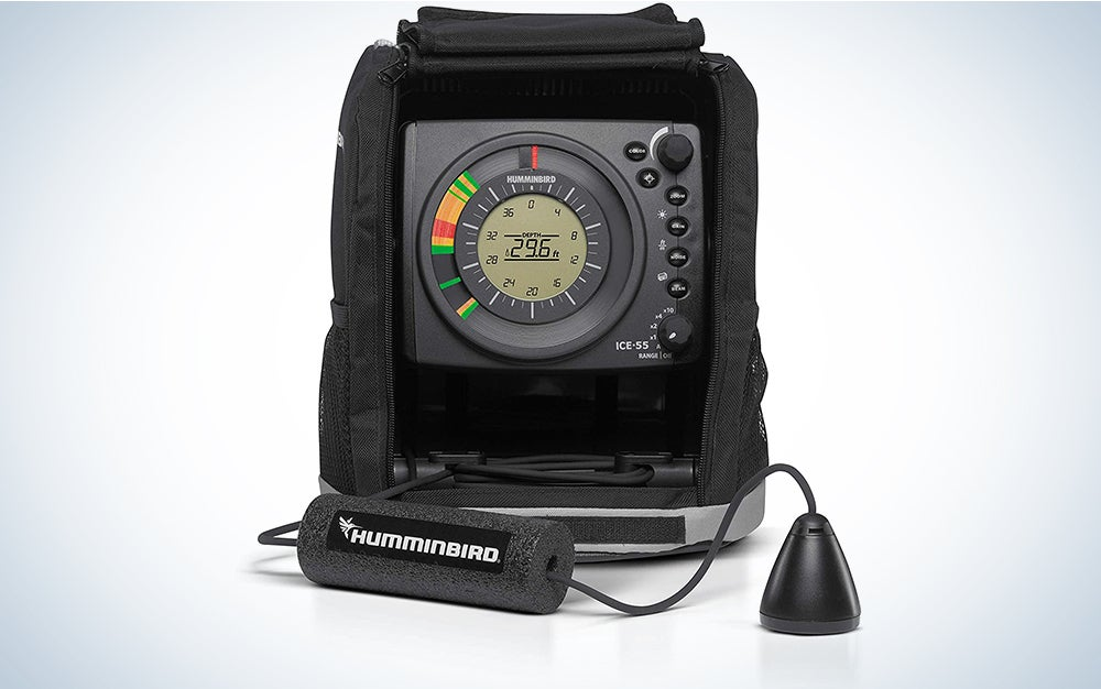 Humminbird ICE-55 Six Color Flasher with LCD
