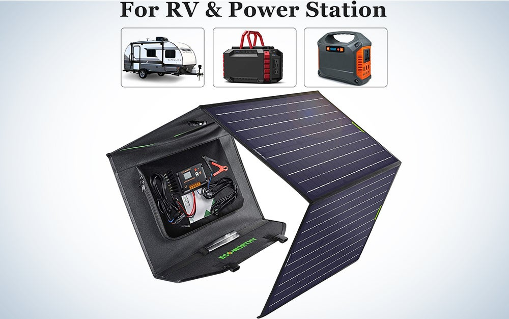 Eco-Worthy Complete Off-Grid Foldable Solar Panel Kit