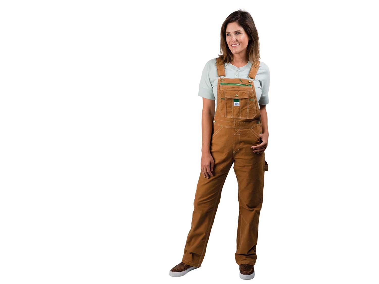 Liberty Women's Washed Duck Bib Overalls