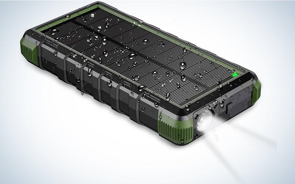 EasyAcc 24000mAh Solar Power Bank