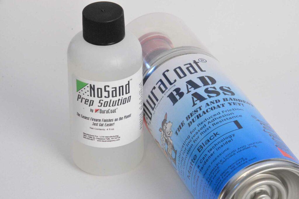 DuraCoat No Sand sandblasting.