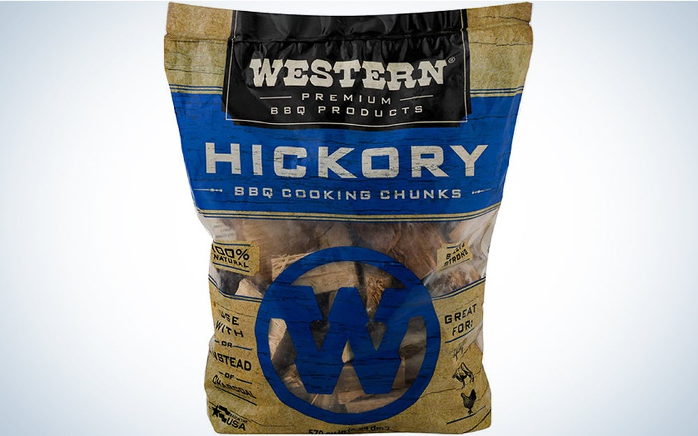 Western Premium BBQ Products Hickory BBQ Smoking Chips