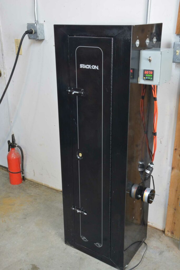 A large custom dry oven.