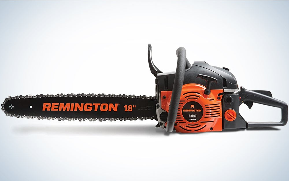 Remington RM4218 Rebel 42cc 2-Cycle 18-Inch Gas Powered Chainsaw