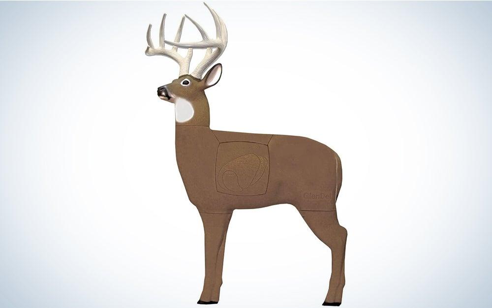 GlenDel Pre-Rut Buck Archery Target with Replaceable Insert Core