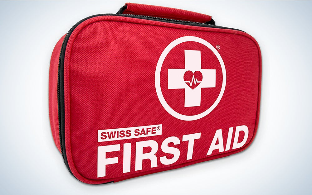 Swiss Safe 2-in- 1 First Aid Kit (120 pieces)
