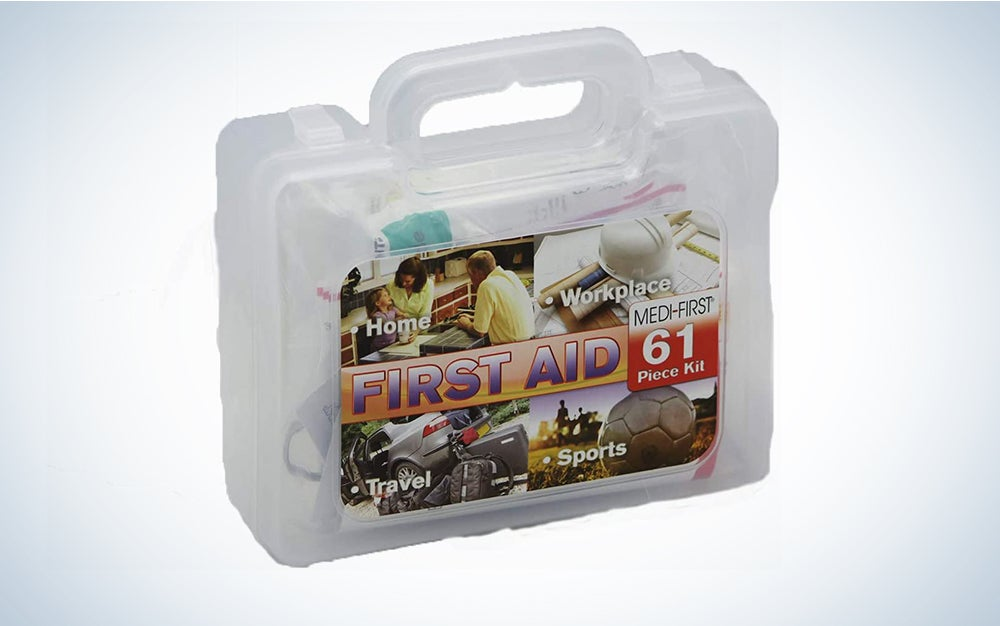 Medique First Aid Kit, 61-piece