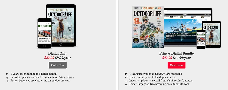 Outdoor Life Digital Subscription