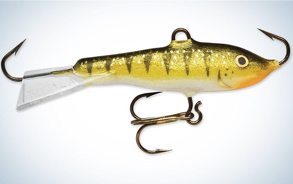Rapala Jigging Rap 07 Fishing lure, 2.75-Inch, Glow Yellow Perch