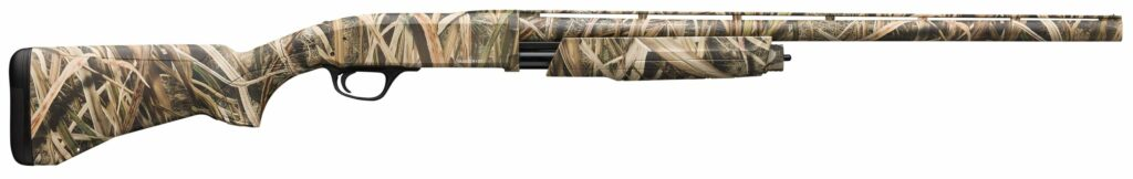 Browning BPS waterfowl shotgun with shadow grass camo