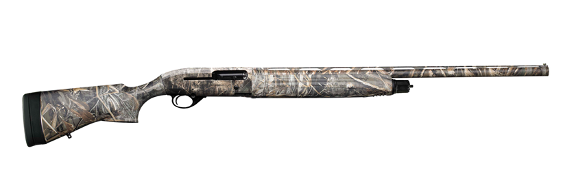 beretta shotgun with waterfowl reed camo semi-automatic action