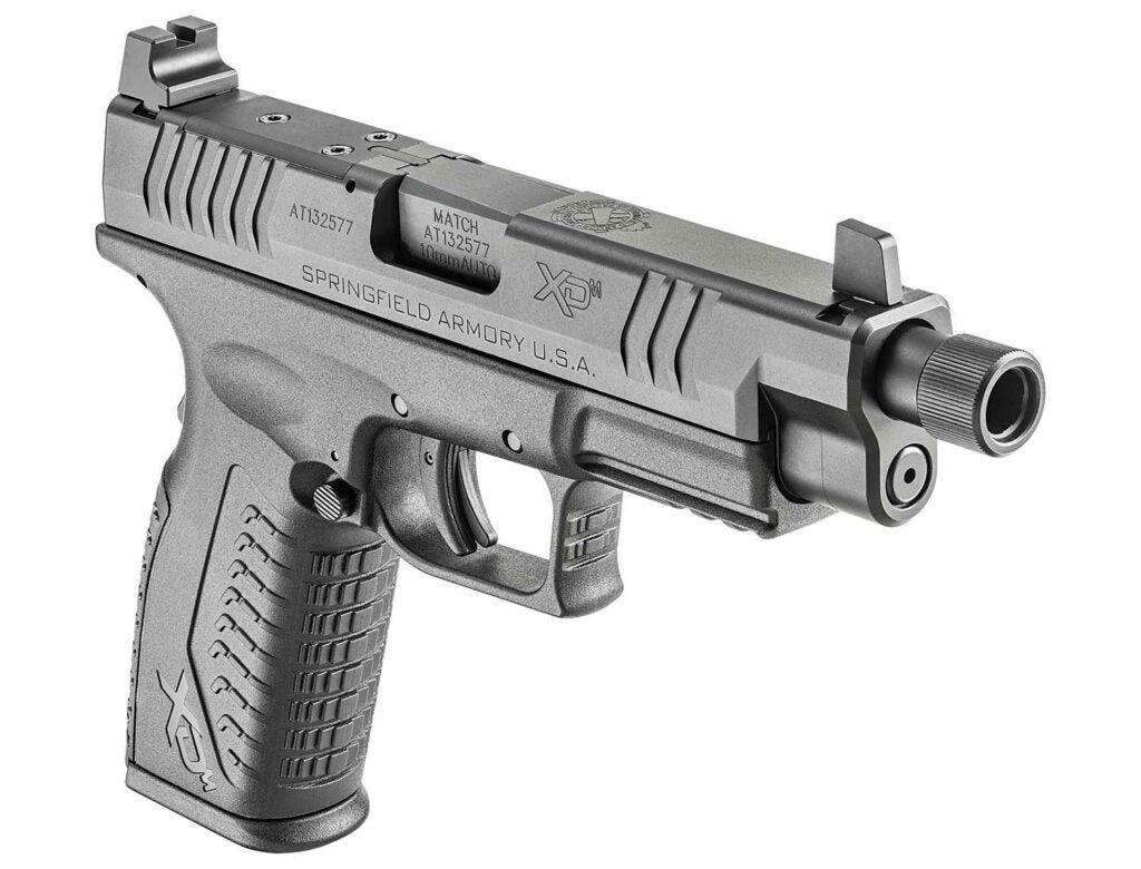 A Springfield Armory XDM10 handgun.