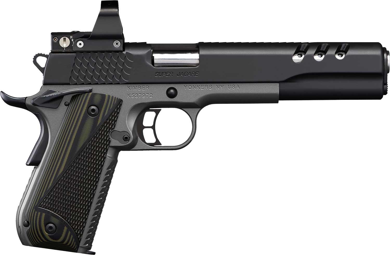 Kimber Super Jagere handgun.