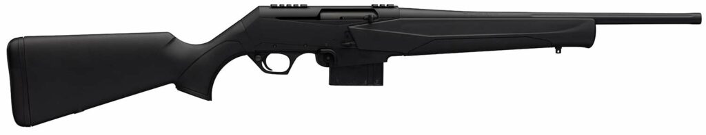 The Browning BAR MK3 DBM rifle on a white background.
