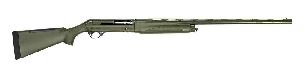 A Breda B35SM shotgun on a white background.