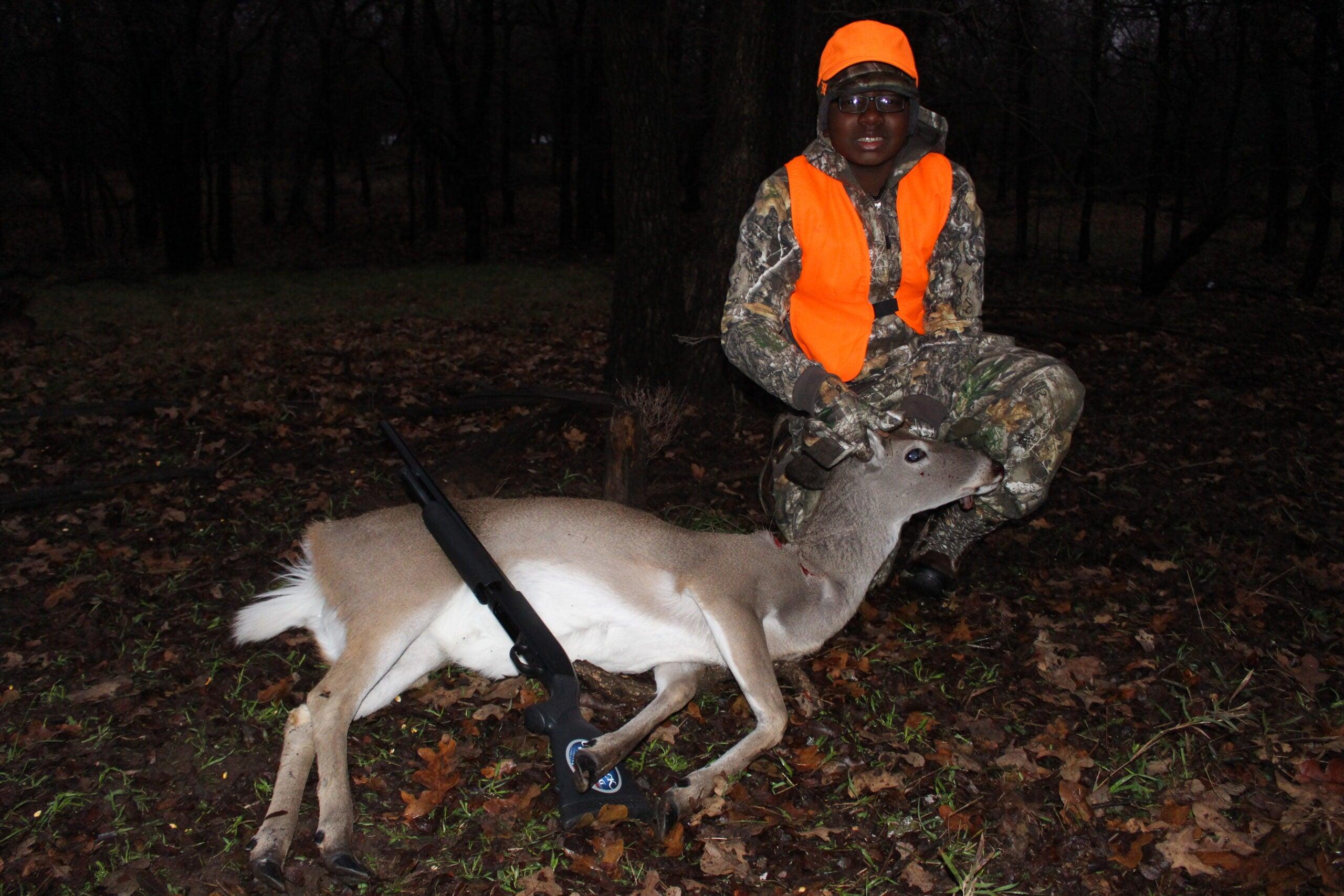 whitetail deer hunt