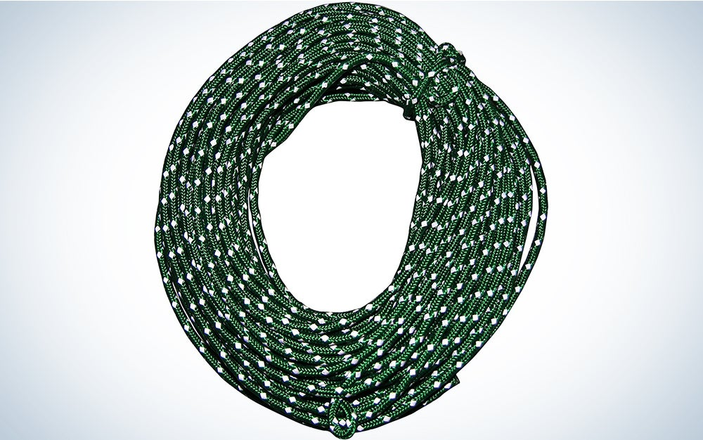 Nite Ize RR-04-50 Rope Pack-50 FT Reflective Cord, 50 Feet, Green