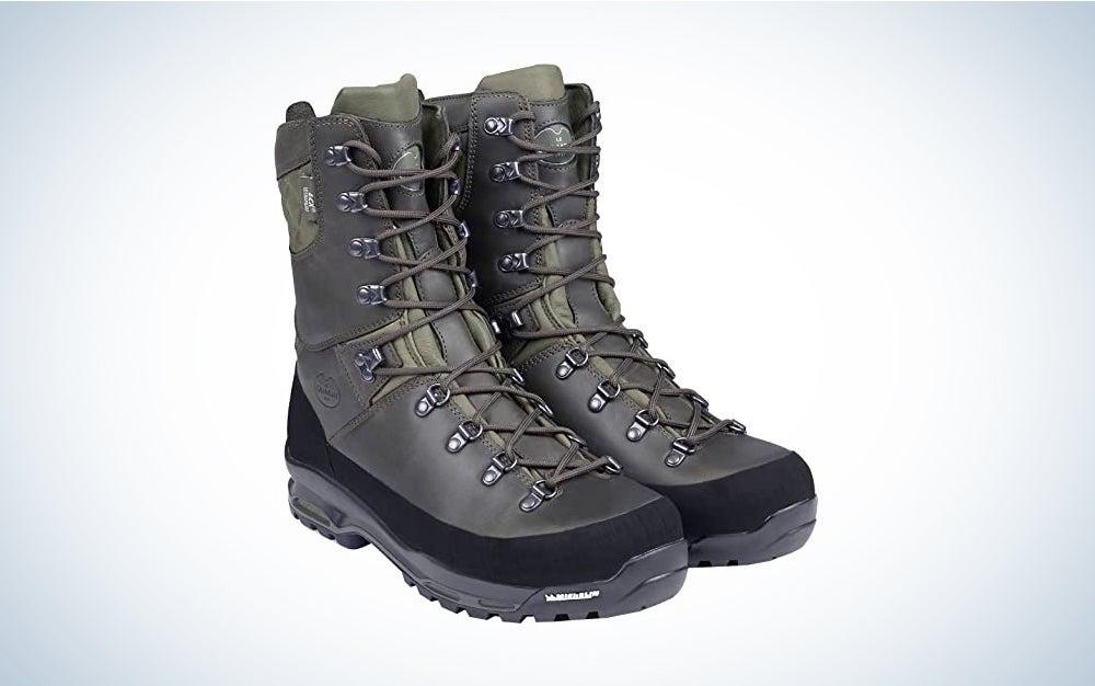 Le Chameau Men's Chameau-Lite LCX 10-Inch Lace-up Boots