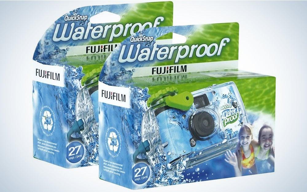 Fujifilm Disposable QuickSnap Waterproof Pool Underwater 35mm Camera