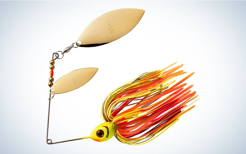 Booyah Pikee Spinner-Bait Fishing Lure for Pike and Musky, 1/2 Ounce