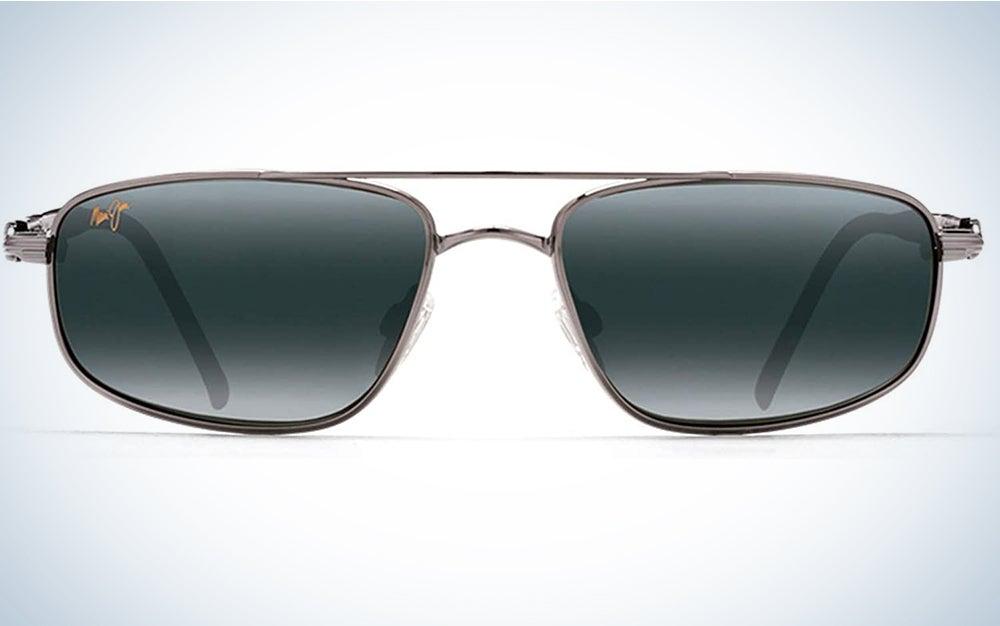 Maui Jim mens Kahuna Rectangular Sunglasses