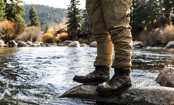 The best shoes—not wading boots—for fishing