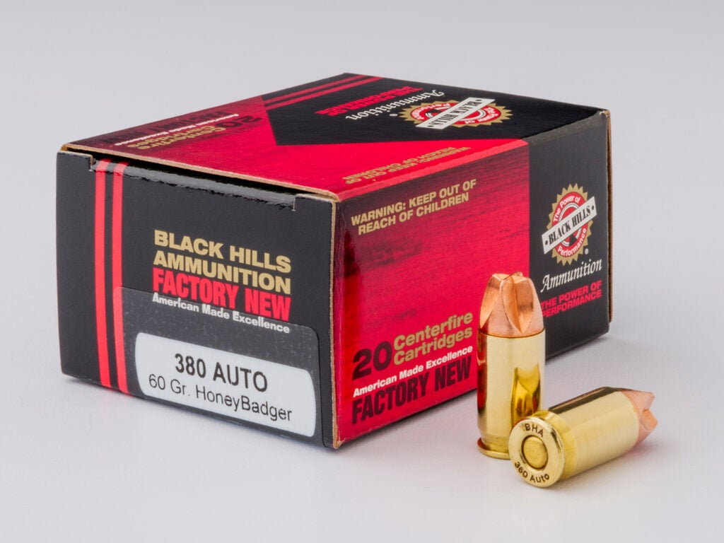 A box of black hills ammunition ammo.