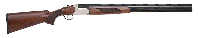 A Mossberg Silver Reserve shotgun on a white background.