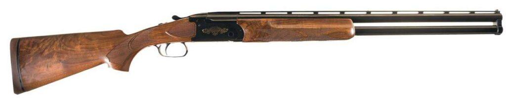 A Remington 3200 shotgun on a white background.