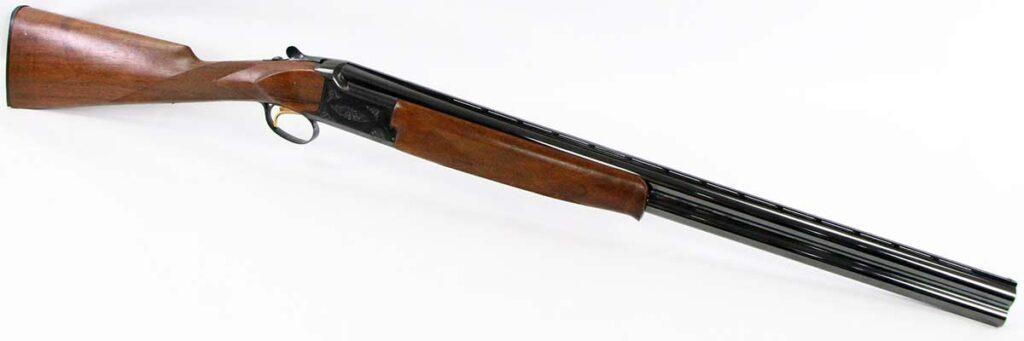 A browning Citori shotgun on a white background.