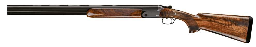 Blaser F16 German shotgun on a white background.