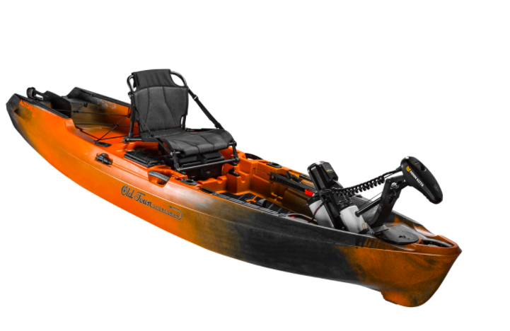 Finally, a Fishing Kayak You Can Control While You're Standing Up