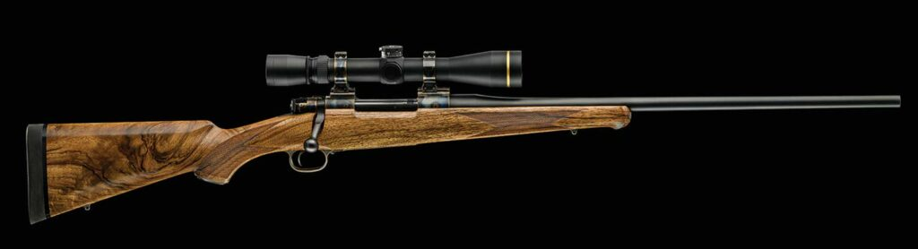 Side profile of a Dakota Arms rifle.
